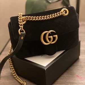 Gucci marmont velvet medium